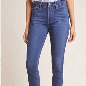 Anthropologie Paige Hoxton Ankle High-Rise Skinny